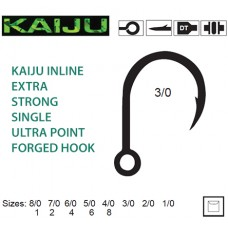 Mustad Kaiju Inline Hook 10121NP-BN