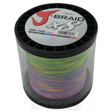 J-Braid 8X 1500m Multi Colour 65LB - 120LB
