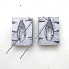 Sinker Mould 4oz Nylon Grapnel
