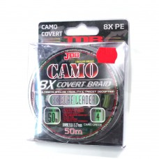 JDB Camo Covert 8X Braid Surf Leader 120lb 0.50mm 50m