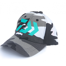 DAIWA CAP CLASSIC CAMO (Black/White)
