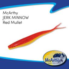 "McArthy Jerk Minnow 5"" RED MULLET 8P/P"