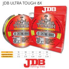 JDB 8X ULTRA TOUGH 15lb 0.12mm 300m