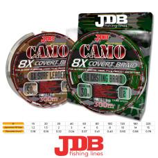 JDB Camo Covert 8X Braid 300m