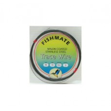 FISHMATE NYLON COATED STAINLESS STEEL TRACE WIRE