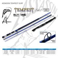 """Assassin Tempest Surf 12ft Medium Heavy 3pc Short Butt Casting 4-5oz """"CHRISTMAS SPECIAL"""""""